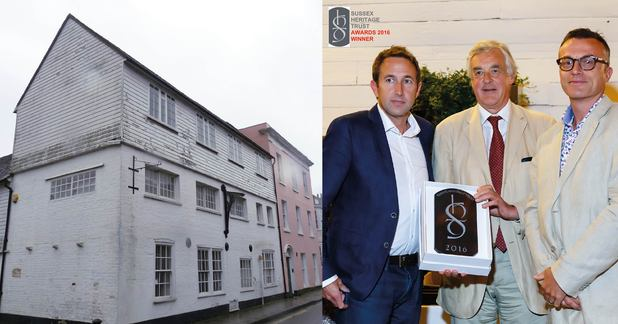 Elberry Properties Ltd and MH Architects Ltd win Sussex Heritage Trust Award 2016